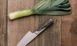 How to wash and prep leeks