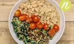 Wild Rice and Bean Bowl