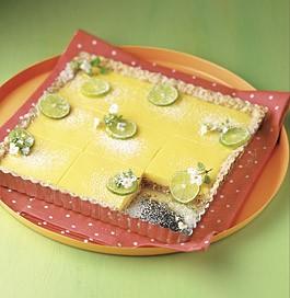 Key Lime and Ginger Tart