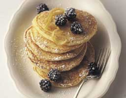 Lemon Ricotta Hot Cakes