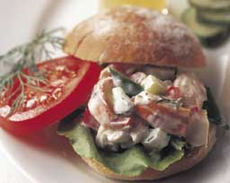 Dilled Lobster Salad Sandwich