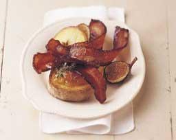 Mustard Glazed Bacon