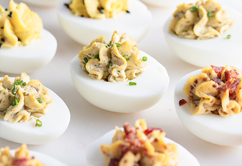 Deviled Eggs Three Ways