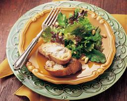 Spring Greens with Gorgonzola Toast