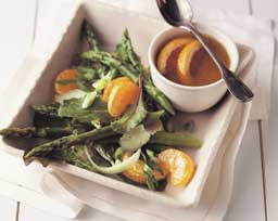 Spring Greens with Sherry-Orange Vinaigrette