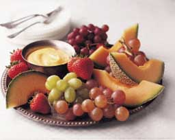 Fresh Fruit Tray Served with Lemon Curd Dip