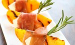 appetizer with grilled peach