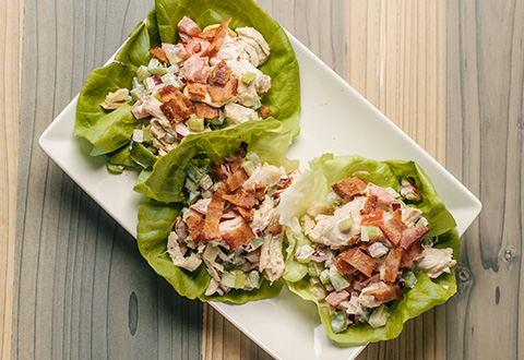 BLT Chicken Chipotle Salad