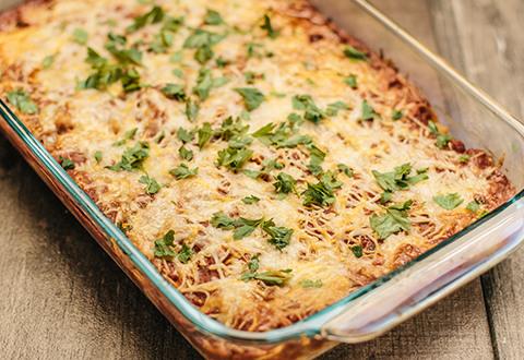 Spaghetti - Baked