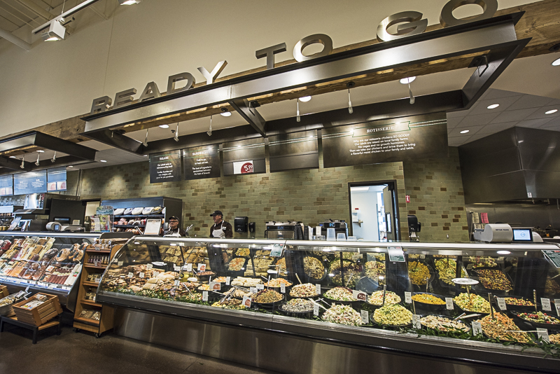 A ready to go deli section.