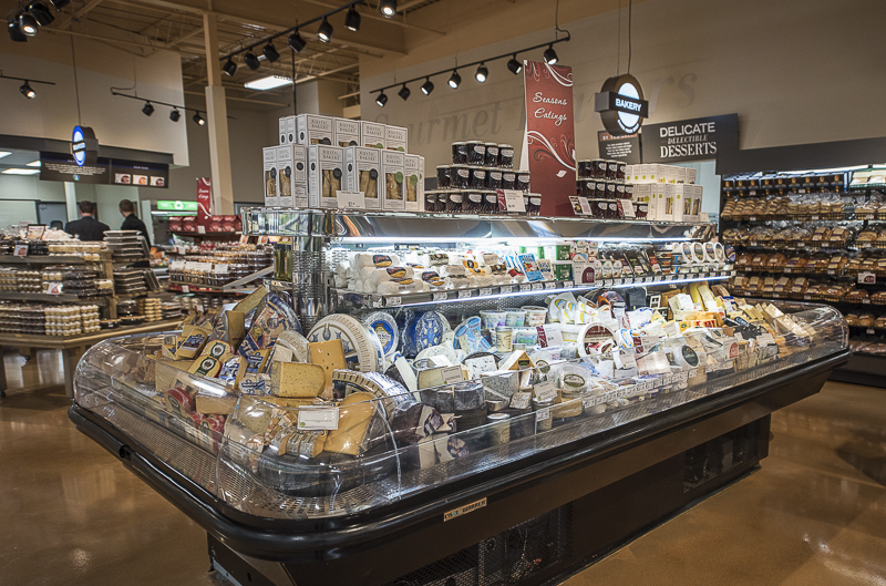 an island of artisan cheese.