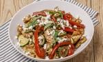 Mediterranean Chicken Penne Pasta