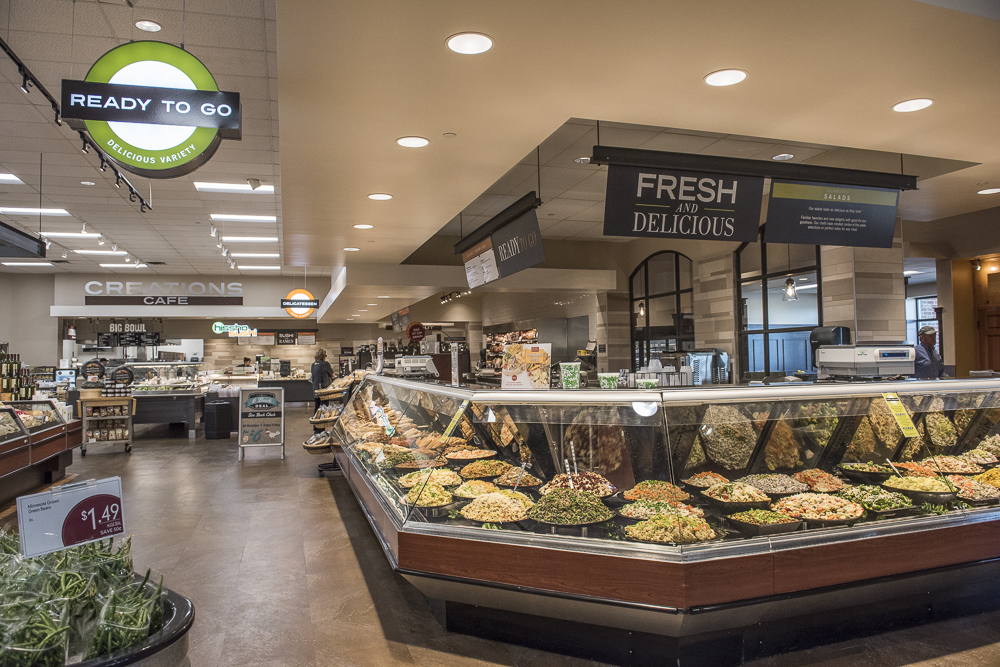 A fresh and delicious deli section.
