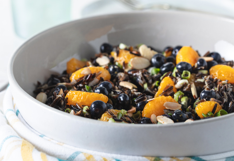 L&B Blueberry Wild Rice Salad