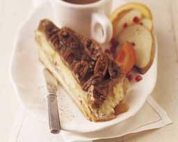 Caramel Pecan Stuffed French Toast