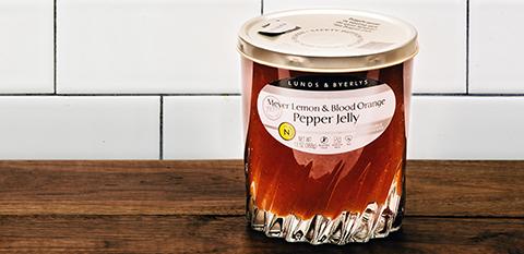 Lunds & Byerlys Meyer Lemon & Blood Orange Pepper Jelly