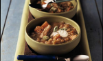Pork Molé Stew with White Beans and Yams