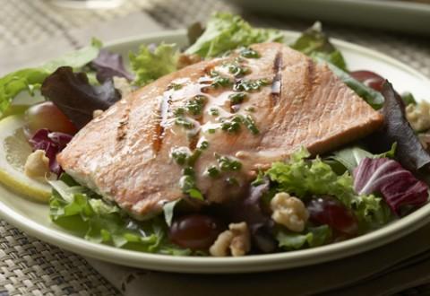 Alaska Salmon Salad Monterey