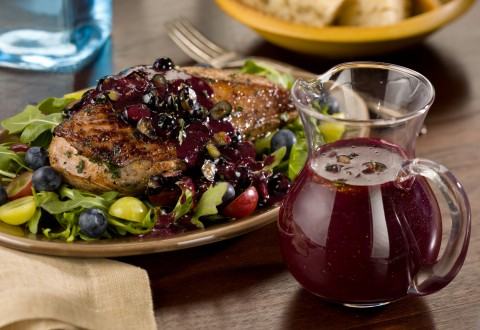 Fresh Blueberry Chicken and Pork Marinade