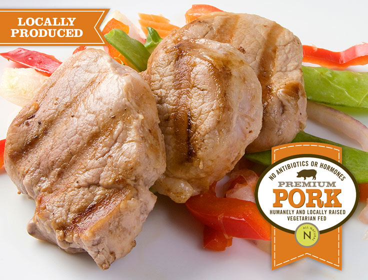 Lunds & Byerlys pork comes from livestock that is cared for from birth to finish.