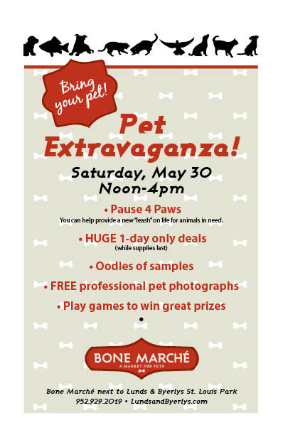 Bone Marché Pet Extravaganza Info for Facebook-May 2015