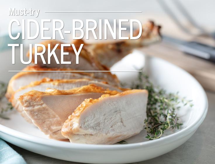 Cider Brined Turkey
