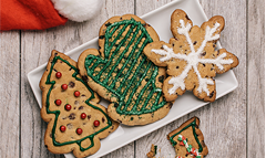 Chocolate Chip Holiday Cutouts