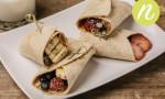 Peanut Butter & Berry Burrito