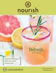 Nourish magazine cover for February, 2017