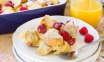 Lemon Raspberry French Toast Casserole-7