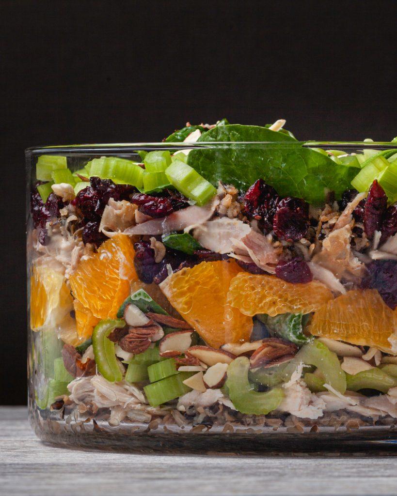 Rotisserie Chicken Remix: Summertime Layered Salad