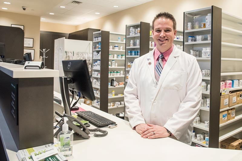 A pharmacist at Lunds & Byerlys Pharmacy