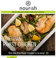 Nourish email preview