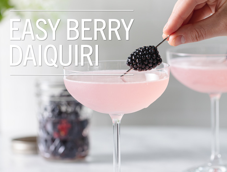 Easy Berry Daiquiri