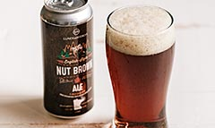 L&B ENGLISH-STYLE NUT BROWN ALE