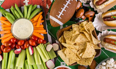 Shop for game day grub