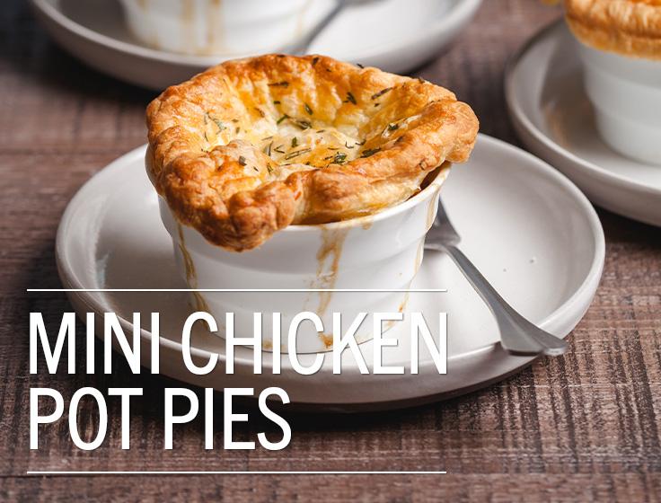 Mini Chicken Pot Pie