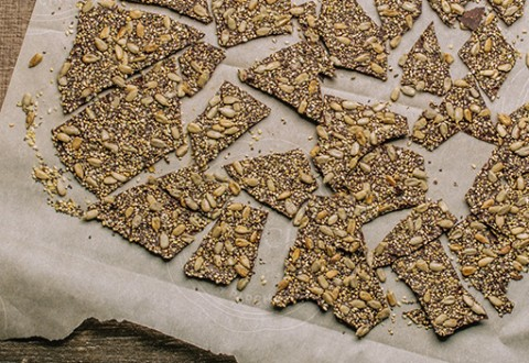 Super Seed Chocolate Bark