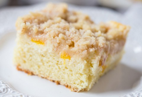 Lunds Amp Byerlys Peaches And Cream Coffee Cake