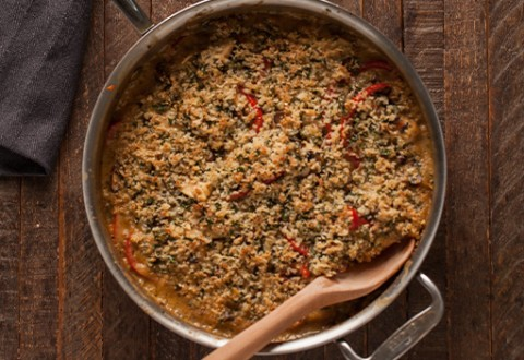 Chicken Wild Rice Bake