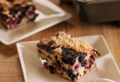 Triple Berry Brunch Cake