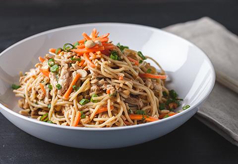 Thai Peanut Pasta Salad
