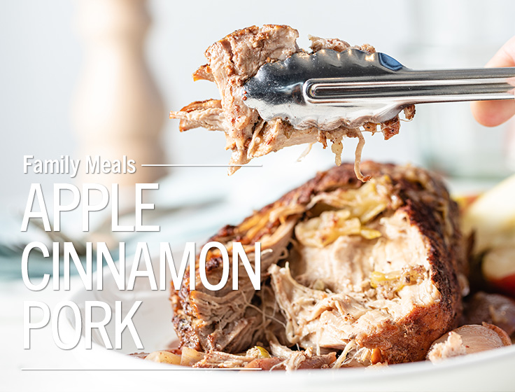 Apple Cinnamon Pork