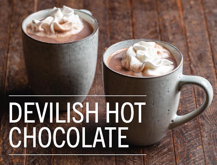 Devilish Hot Chocolate