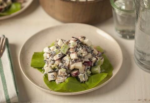 Wild Rice Waldorf Salad