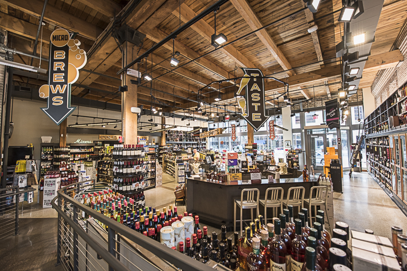 <p>Our Wines & Spirits shops feature an impressive array of wines, liquors and beers from around the world.</p>
