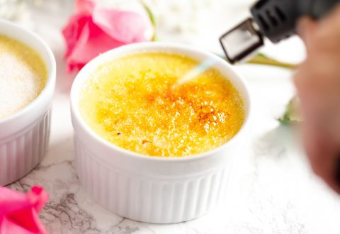 Vanilla Bean Crème Brûlée for Two