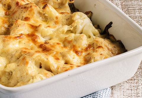 Cauliflower Mac'n Cheese