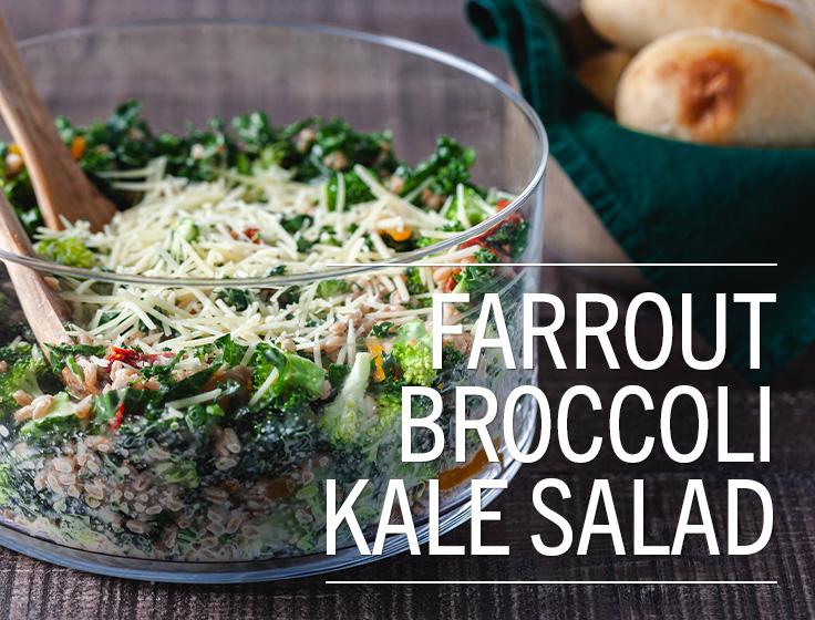 Farrout Broccoli Salad