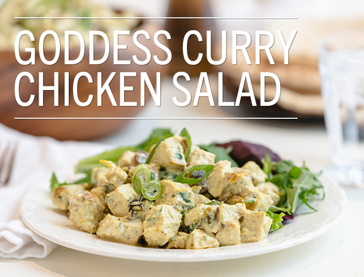 Goddess Curry Chicken Salad